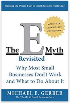 "Cover of the book ""E-Myth Revisited"""