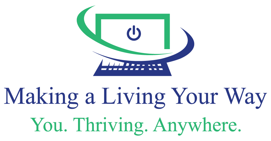 Making a Living Your way logo.